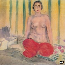 Odalisque a la culotte rouge by Matisse