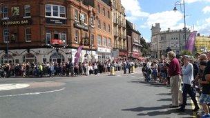 Ramsgate crowds