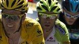 Bradley Wiggins, Vincenzo Nibali & Chris Froome