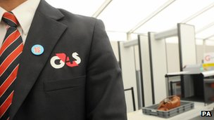 Man wearing a G4S blazer