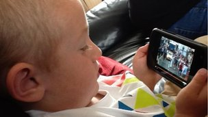 Surely Torchcam&#039;s youngest fan