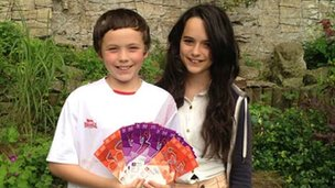 Mr Barclay's children Dan and Cerys will also be going to the Games