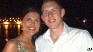 Michaela and John McAreavey