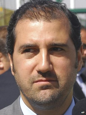 Rami Makhlouf, cousin of the president with close links to the military and security networks and perhaps the richest man in Syria