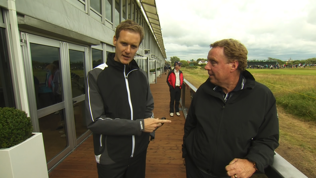 Dan Walker and Harry Redknapp