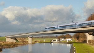 HS2 graphic depiction