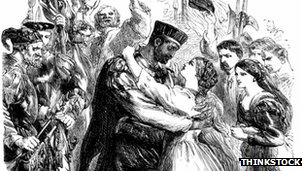 An illustration of a scene from Othello