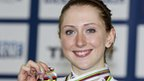 GB track cyclist Laura Trott