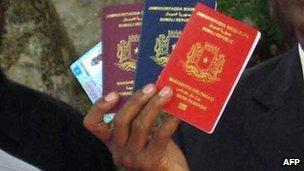 Somali passports