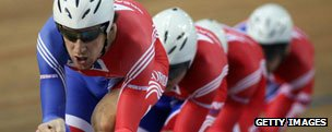 Bradley Wiggins at track cycling world championships, 2007