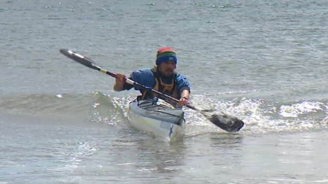 Joe Leech spent 67 days in his canoe