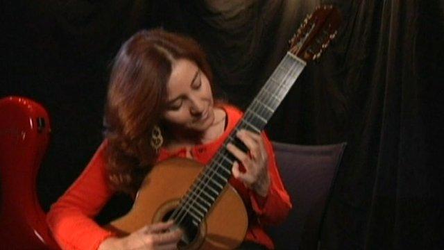 Berta Rojas, Paraguayan classical guitarist
