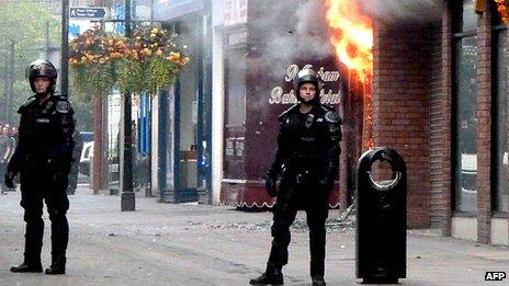 Manchester riots