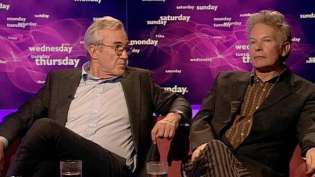 Larry Lamb and Julien Temple