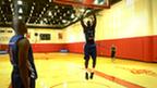 GB basketball players Luol Deng and Pops Mensah-Bonsu