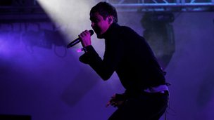 Keane's Tom Chaplin performs at House Festival, Chiswick House in June