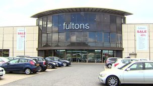 Fultons Fine Furnishings Belfast store