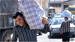 Syrian flee in Lebanon