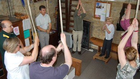 St Nicholas Church bell ringers