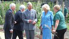 The Prince of Wales and Duchess of Cornwall visit Guernsey's Victorian walled kitchen garden