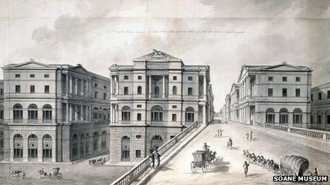 Robert Adam drawing of South Bridge
