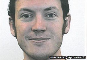 A photo from University of Colorado Denver of James Holmes