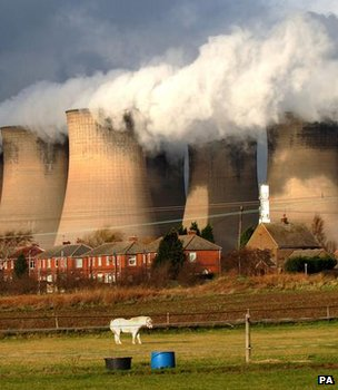 Coal-fired power station's cooling towers (Image: PA)