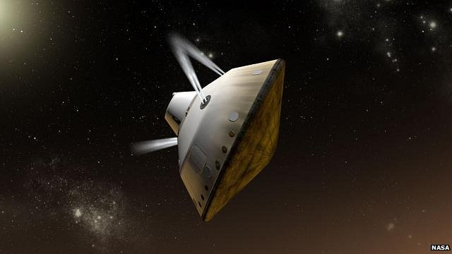 MSL rover entry