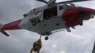 Solent coastguard