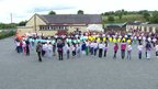 Summer camp at Glencull Primary School near Ballygawley in County Tyrone
