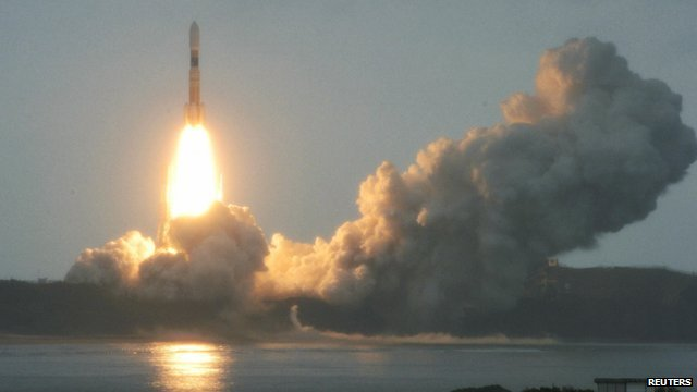 Japanese rocket blasts off
