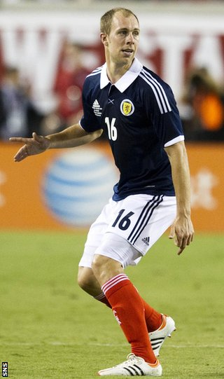 Whittaker last played in Scotland's 5-1 defeat by the United States in May