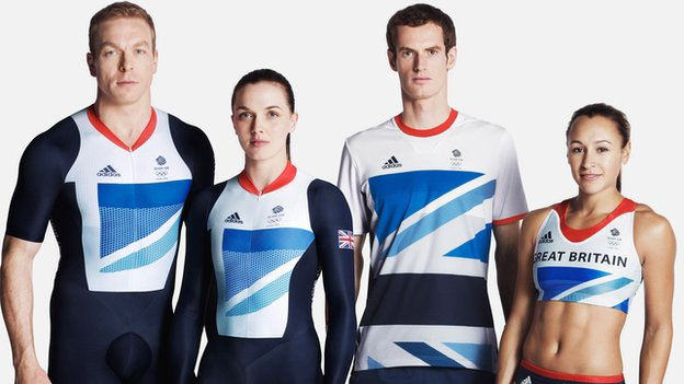 Sir Chris Hoy, Victoria Pendleton, Andy Murray and Jess Ennis