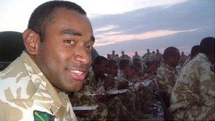 Isimeli Baleiwai in Iraq