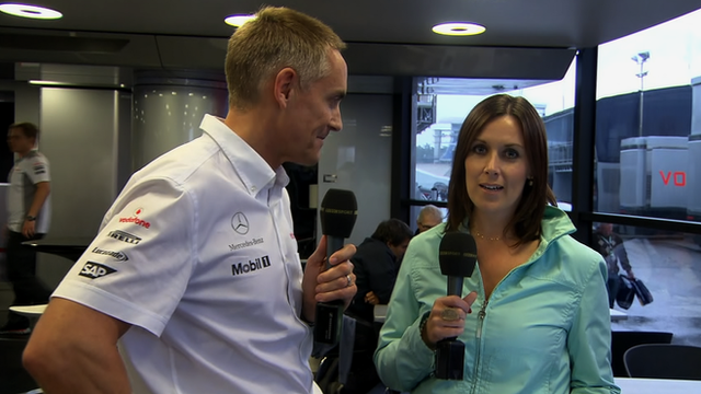 Lee McKenzie is joined by McLaren team principal Martin Whitmarsh
