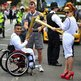 Paloma Faith passes on the flame to Sheikh Sheikh