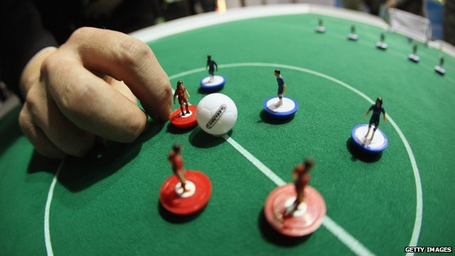 Subbuteo table