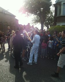 More torch &#039;kissing&#039; on the Cranbrook Road