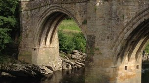 Devil's Bridge in Kirkby Lonsdale