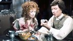 Angharad Rees with Robin Ellis in Poldark