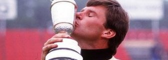 Nick Faldo wins The Open in 1987