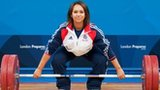 Team GB weightlifter Zoe Smith