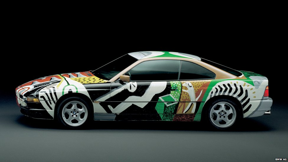 Bmw Artist Painted Cars