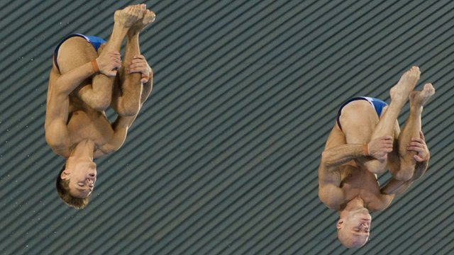 Divers Tom Daley &amp; Peter Waterfield