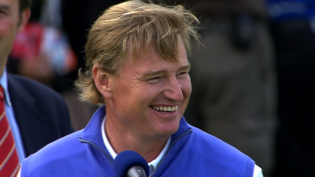 South African Ernie Els