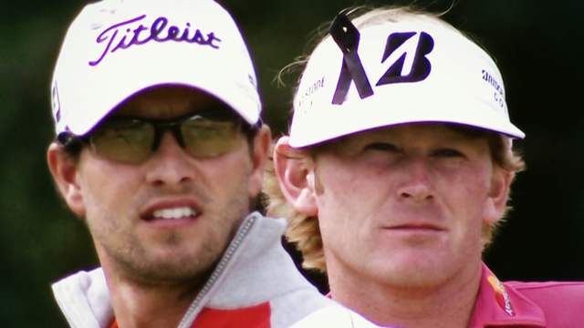 Adam Scott and Brandt Snedeker