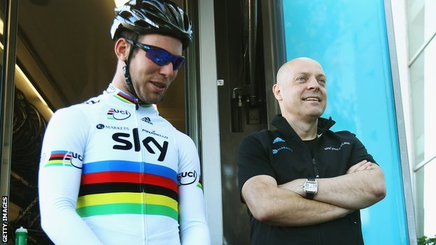 Mark Cavendish and Dave Brailsford