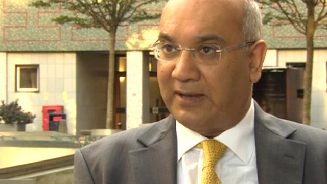 Committee chairman, Labour MP Keith Vaz