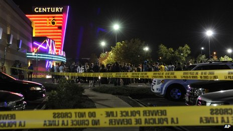 Cinema in Aurora, Colorado, where 12 people died last week