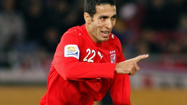 Al Ahly&#039;s Mohamed Aboutrika
